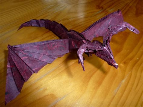 origami darkness 454 unryushi darkness 2 setting the crease