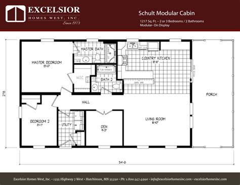 homes with floor plans schult modular cabin excelsior homes west inc