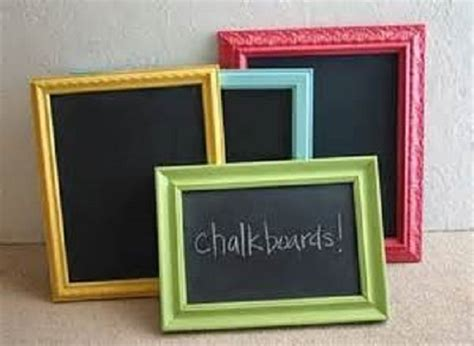 diy chalk paint picture frame diy picture frames chalkboard picture frame