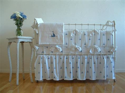 william crib bedding sweet william by the sea sailboats crib bedding featured