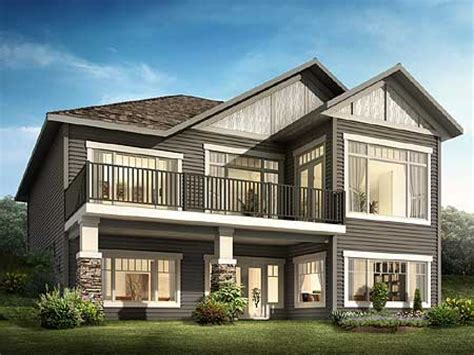 house plans for sloping lots sloping lot house plans craftsman house design plans
