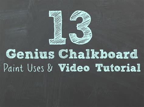 chalkboard paint tutorial 13 genius chalkboard paint ideas tutorial
