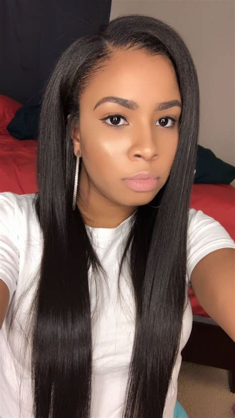 weave hairstyles best 25 sew in hairstyles ideas on pinterest