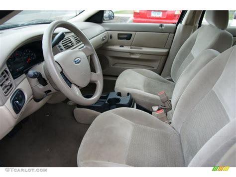 medium dark pebble beige interior 2006 ford taurus se photo 38621817 gtcarlot com