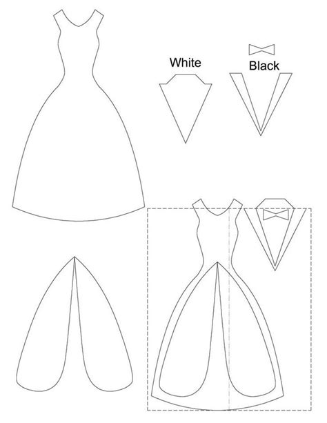 dress template for card wedding nail designs wedding card template 2060896