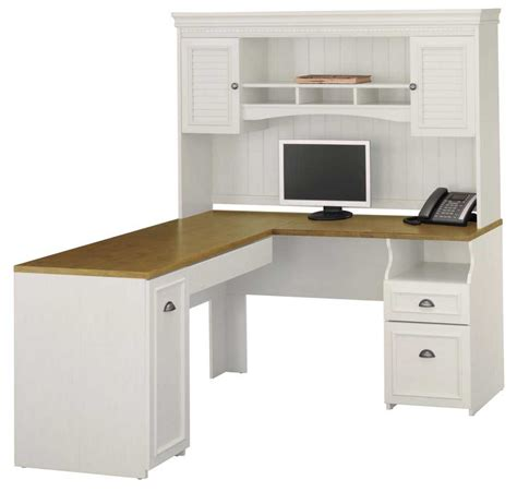 white corner desk hutch bush desk furniture for home office