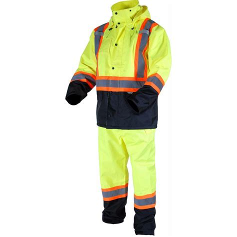 home depot yellow paint suit terra s x large yellow high visibility reflective