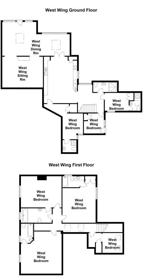 west wing floor plan 28 west wing floor plan gallery for gt west wing