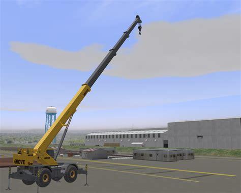 rubber sts unlimited port construction crane simulator models globalsim