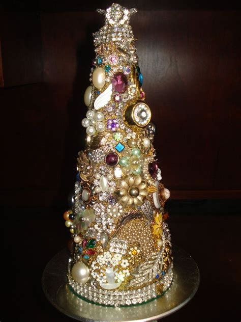 make a jewelry tree remember the beautiful bits and bobs of s jewelry