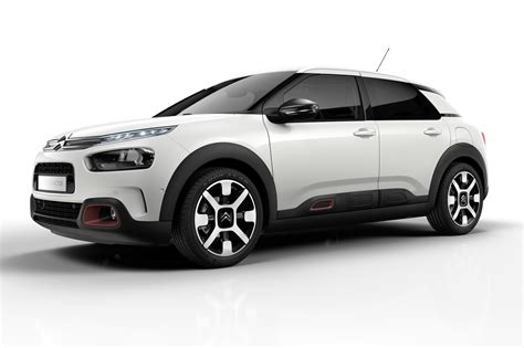 Citroen C4 by Citroen C4 Cactus Facelifted Airbumps Out Comfier Ride