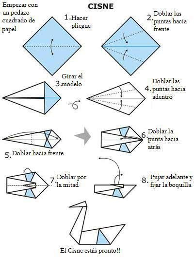 how to make origami swan step by step an 237 mate con este cisne origami papiroflexia