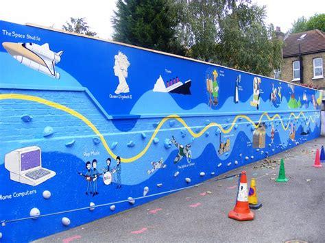 wall murals for schools timeline school mural
