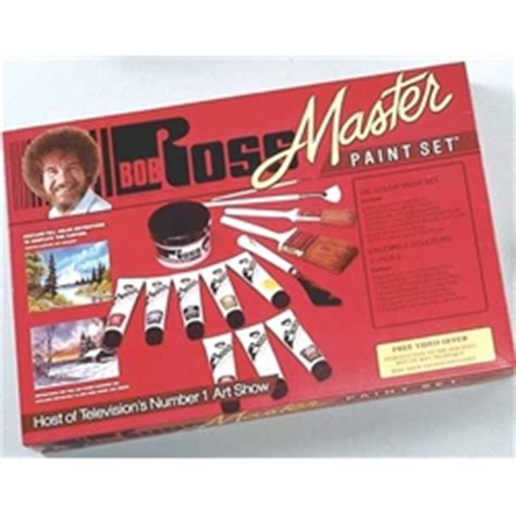bob ross painting dvd set bob ross master paint set w dvd on sale