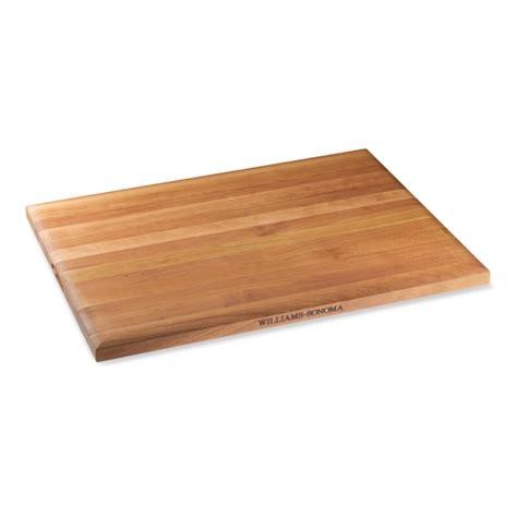 cutting board williams sonoma edge grain cutting board cherry