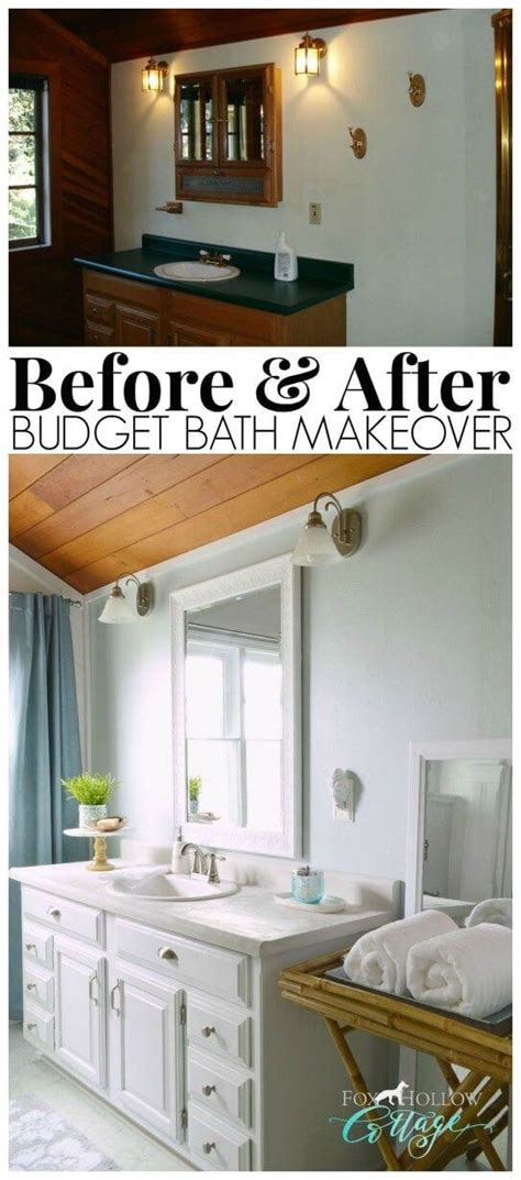 Bathroom Ideas Cheap Makeovers by 28 Best Budget Friendly Bathroom Makeover Ideas And