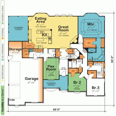 one story house plans open floor plans delightful one story house plans with open floor plans
