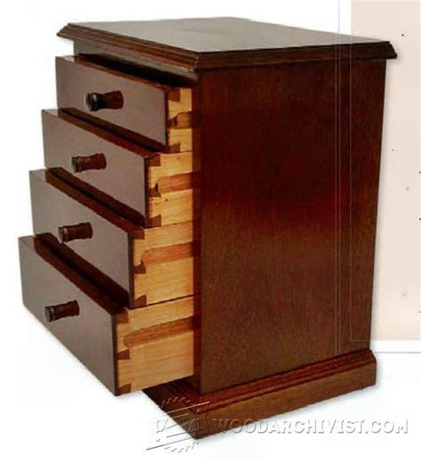 chest of drawers woodworking plans miniature chest of drawers plans woodarchivist