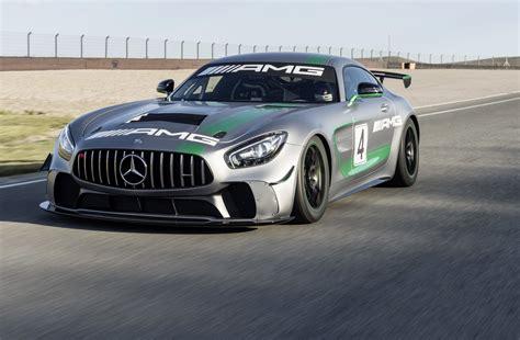 Mercedes Car by Mercedes Amg Reveals Gt4 Race Car