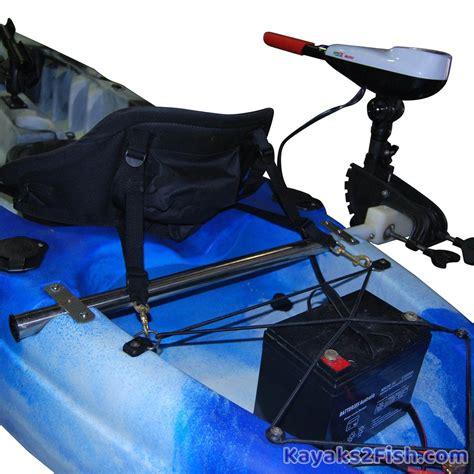 Electric Motor Mount by Kayak Trolling Motor 28lb Thrust Electric Trolling Motor