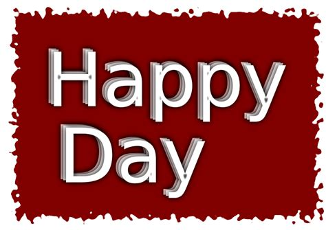 happy day clipart happy day