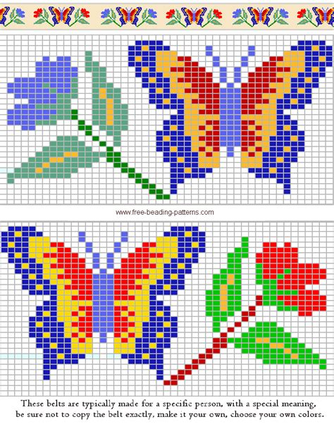 beading designs bead weaving loom patterns free images