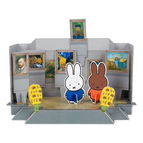 paper craft museum papercraft kit miffy at the kr 214 ller m 220 ller museum