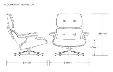 Eames Lounge Chair Dimensions eames lounge chair dimensions woodworking projects plans