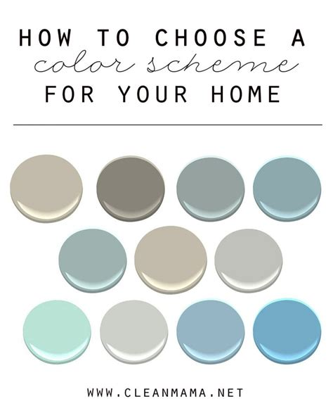 how to choose colors for your home how to choose a color scheme for your home clean