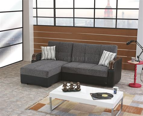 convertible sectional sofas minnesota sectional sofa convertible in fabric by empire