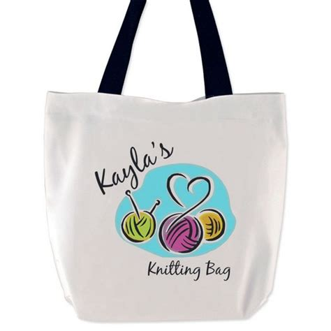 personalised knitting gifts personalized knitting bag