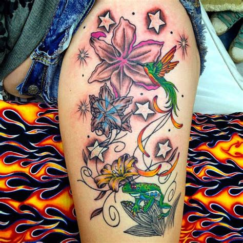 32 unusual lily tattoos designs