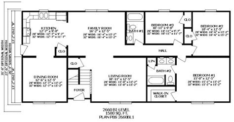 4 bedroom ranch floor plans beautiful 2 bedroom 2 bath ranch house plans new home plans design