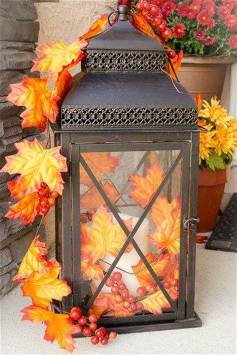 indoor fall decorations 59 fall lanterns for outdoor and indoor d 233 cor digsdigs