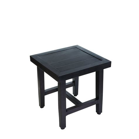 hton bay woodbury patio accent table d9127 ts the