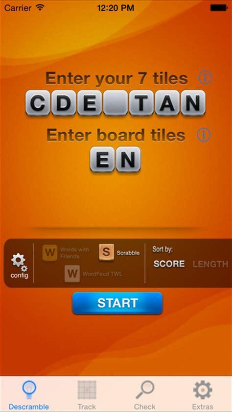 descrambler scrabble descrambler unofficial word solver for scrabble