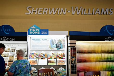 sherwin williams paint store bc sherwin williams and ppg tackle a tough paint wsj