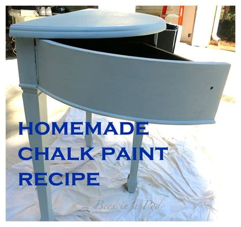 chalk paint plaster of recipe chalk paint and a table makeover we