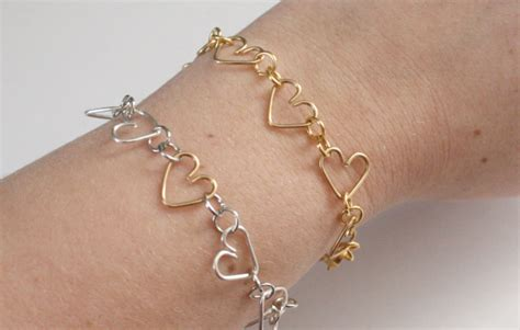 how to make jewelry with and wire diy wire hearts jewelry tutorials