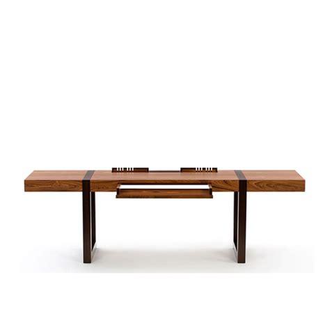 modern wood computer desk wood veneer finishes rack large office desk combination