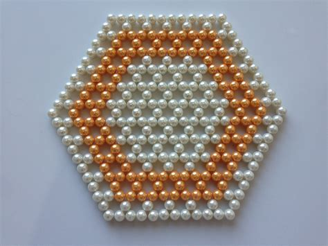 how to do beading how to make beaded table mat diy table mat