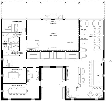 floor plans for a restaurant neill s portfolio turquiose restaurant