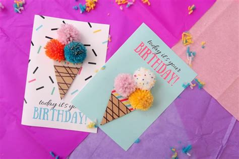 13 DIY Birthday Cards That Are Too Cute   Shelterness
