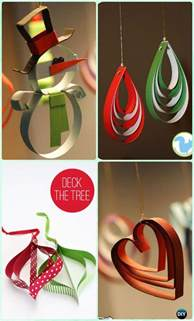 how to make paper ornaments for tree diy paper tree ornament craft ideas