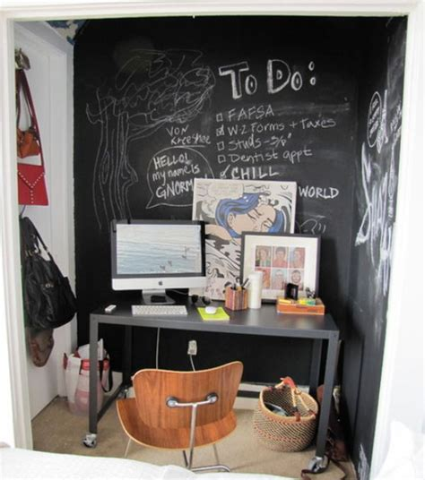 chalkboard paint ideas office how to creatively use chalkboard paint around the house