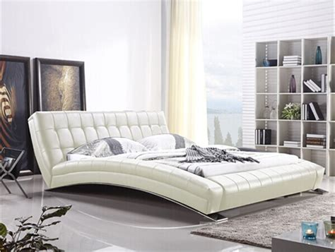 modern stainless steel furniture compare prices on leather bed sheets shopping buy