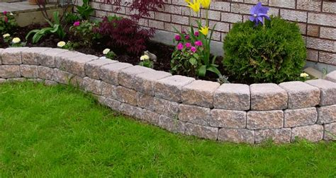 garden walls blocks the garden accent retaining wall system is the right