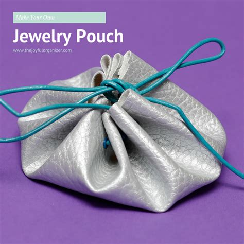 make your own jewelry make your own jewelry pouch the joyful organizer