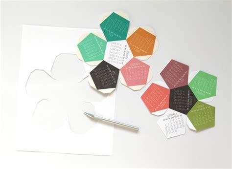 paper craft calendars make a 3d 2015 calendar free printable a of rainbow