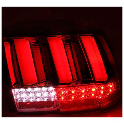 sequential lights 1999 2004 ford mustang sequential led lights smoked